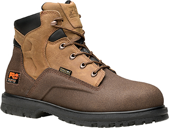 "Men's Timberland 6"" Steel Toe WP Work Boot 89650"