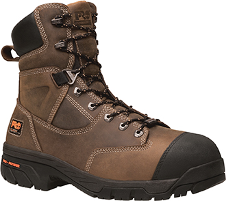 "Men's Timberland Pro 8"" Composite Toe WP/Insulated Work Boot 91607"
