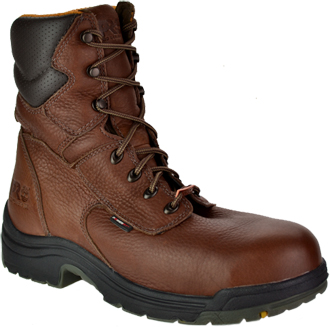 "Men's Timberland 8"" Alloy Toe WP Work Boot 47019"