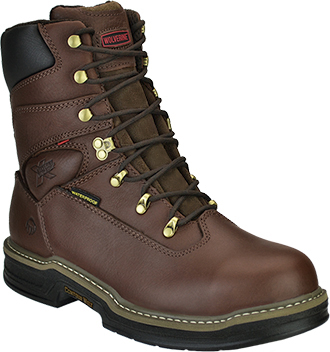 "Men's Wolverine 8"" Steel Toe WP Work Boot W04822"