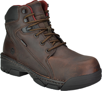 "Men's Wolverine 6"" Composite Toe Metal Free Work Boot W02376"