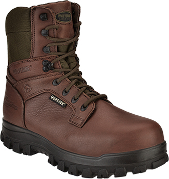 "Men's Wolverine 8"" Steel Toe WP/Insulated Hunting Boot W04795"