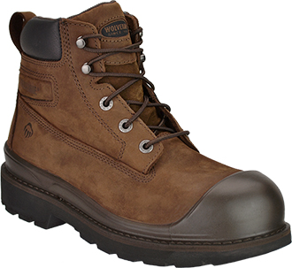 "Men's Wolverine 6"" Steel Toe WP Work Boot W04661"