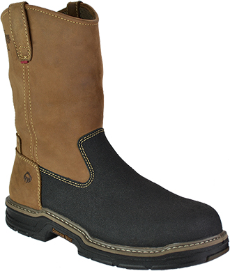 "Men's Wolverine 10"" Composite Toe WP Wellington Work Boot W02285"