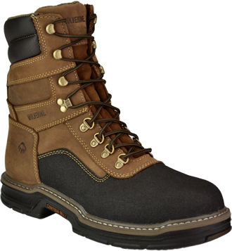 "Men's Wolverine 8"" Composite Toe WP Work Boot W02256"