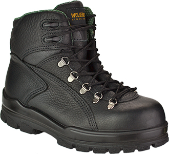 "Men's Wolverine 6"" Steel Toe WP Hiker Work Boot W03778"