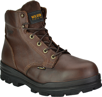 "Men's Wolverine 6"" Steel Toe WP/Insulated Work Boot W03177"