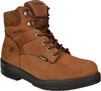 "Men's Wolverine 6"" Steel Toe Work Boot W02053"