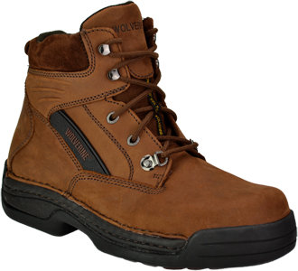 "Men's Wolverine 6"" Steel Toe Work Boot W04109"
