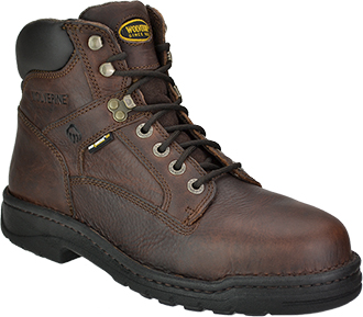 "Men's Wolverine 6"" Steel Toe Work Boot W04375"