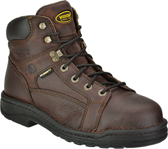 "Men's Wolverine 6"" Steel Toe Work Boot W04377"