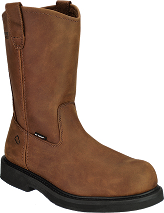 "Men's Wolverine 10"" Steel Toe Wellington Work Boot W06683"