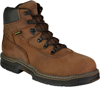 "Men's Wolverine 6"" Steel Toe WP/Insulated Work Boot W02161"