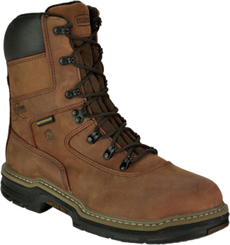 "Men's Wolverine 8"" Steel Toe WP/Insulated Work Boot W02163"