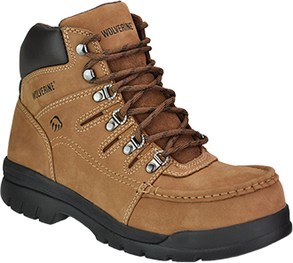 "Men's Wolverine 6"" Steel Toe Work Boot W04349"
