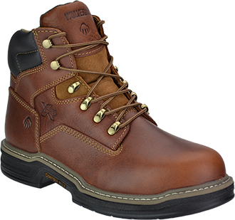 "Men's Wolverine 6"" Steel Toe Work Boot W02419"