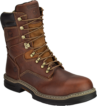 "Men's Wolverine 8"" Steel Toe Work Boot W02423"