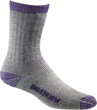 Women's Wolverine 2-Pair-Pack Merino Wool Sock (U.S.A.) W97927270-500