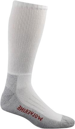 "Wolverine 2-Pair-Pack ""Steel Toe"" Footwear Use Cotton Boot Sock (U.S.A.) W91104070"