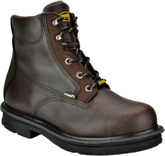 "Men's Wolverine 6"" Steel Toe Metguard Work Boot W01655"