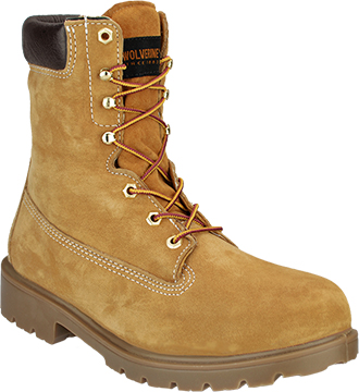 "Men's Wolverine 8"" Steel Toe WP/Insulated Work Boot W01124"