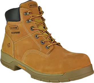 "Men's Wolverine 6"" Steel Toe WP Work Boot W05065"