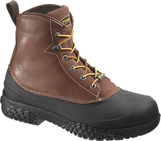 "Men's Wolverine 6"" Steel Toe WP Work Boot W05698"