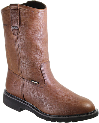 "Men's Wolverine 10"" Steel Toe WP Wellington Work Boot W02573"