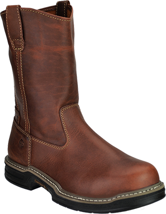 "Men's Wolverine 10"" Steel Toe Wellington Work Boot W02427"