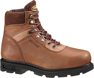 "Men's Wolverine 6"" Steel Toe Work Boot W04013"