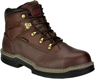 "Men's Wolverine 6"" Steel Toe WP Work Boot W04820"