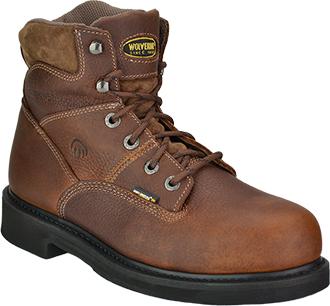 """Men's Wolverine 6"""" Steel Toe Work Boot W04325"""