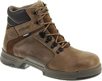"Men's Wolverine 6"" Steel Toe WP Work Boot W10213"