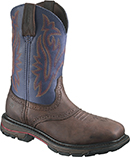 "Men's Wolverine 10"" Steel Toe WP Western Wellington Work Boot W10244"