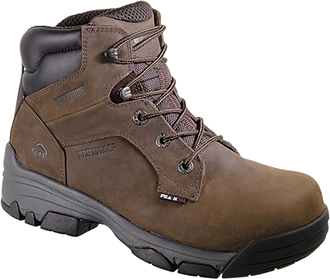 "Men's Wolverine 6"" Composite Toe WP Work Boot W10257"