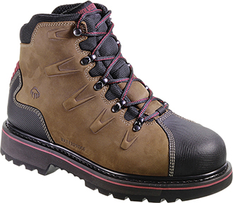 "Men's Wolverine 6"" Steel Toe WP Work Boot W10263"