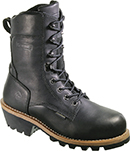 "Men's Wolverine 8"" Steel Toe WP/Insulated Logger Work Boot W10283"