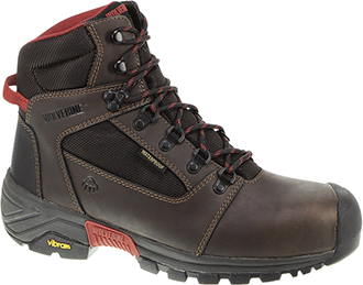 "Men's Wolverine 6"" Composite Toe WP Hiker Work Boot W10294"