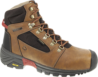 "Men's Wolverine 6"" Composite Toe WP Hiker Work Boot W10295"