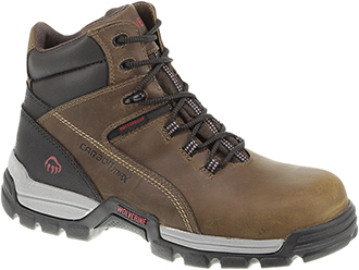 "Men's Wolverine 6"" Composite Toe WP Reflective Work Boot W10305"