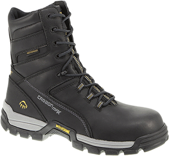 "Men's Wolverine 8"" Composite Toe WP Reflective Work Boot W10306"