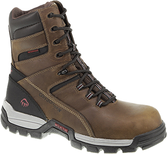 "Men's Wolverine 8"" Composite Toe WP Reflective Work Boot W10307"