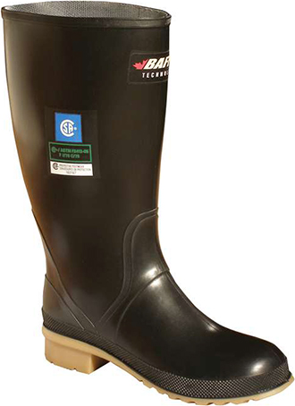 "Women's Baffin 12"" Steel Toe WP Rubber Work Boot 8326"