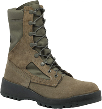 "Women's Belleville 8"" Steel Toe WP Military Boot (U.S.A.) F650ST"