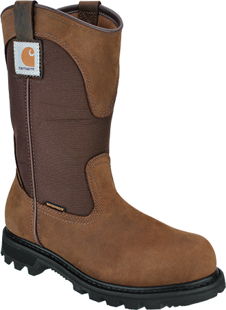 "Women's Carhartt 11"" Steel Toe WP Wellington Work Boot CWP1250"