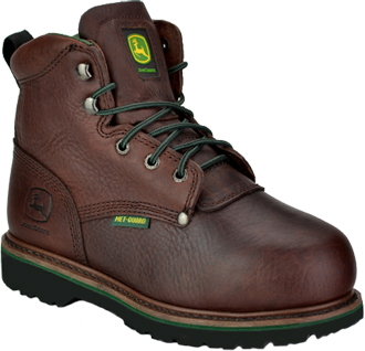 "Women's John Deere 6"" Steel Toe Metguard Work Boot JD3673"