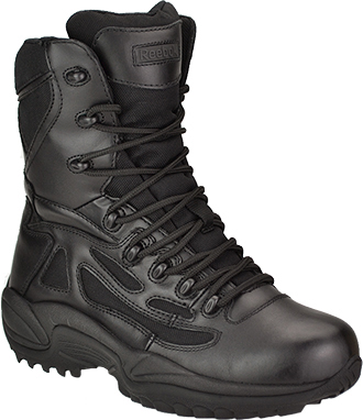 "Women's Reebok 8"" Composite Toe Metal Free Side-Zipper Work Boot RB874"