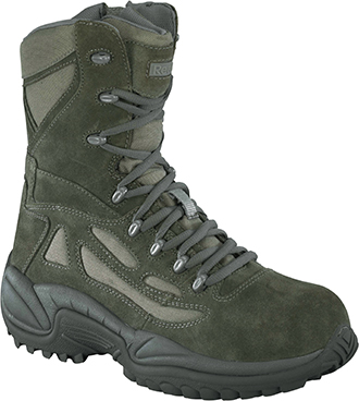 "Women's Reebok 8"" Composite Toe Metal Free Side-Zipper Work Boot RB899"