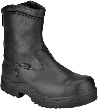"Women's Thorogood 8"" Composite Toe WP Metal Free Side-Zipper Boot 804-6032 (Wide Only)"