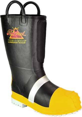 "Women's Thorogood 14"" HellFire WP/Insulated Rubber Steel Toe Boot 507-6003"